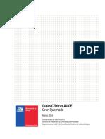 GES Manejo Del Paciente Gran Quemado - MINSAL Chile 2016