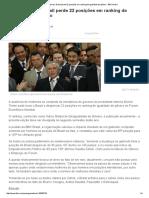 Sem Ministras, Brasil Perde 22 Posições Em Ranking de Igualdade de Gênero - BBC Brasil