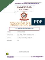 Aliaga Huamán j. Cristian Ley de Recursos Hidricos