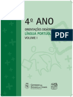 4 Ano Orientacoes Didaticas Lingua Portuguesa Vol.i