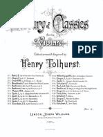 Mendelssohn Andante From Violin Concerto Piano Score