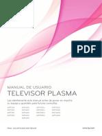 Televisor de Plasma LG
