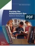 Parsing the Achvmt Gap 2003