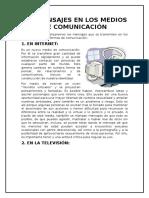 Sexualidad y Medios de Comunicación