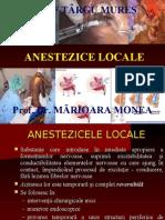 Curs Anestezice