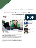 Detectar Este Malware Destruirá Tu PC, Su Nombre Rombertik - ComputerHoy