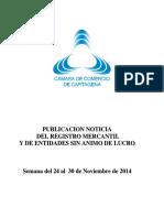 2014120413 Boletin Super Del 24 Al 30 de Noviembre de 2014