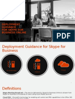 Deployment Guidance for Skype for Business Online