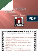 academy choices