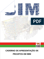 Caderno de apresentação de projetos BIM
