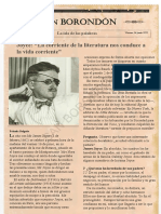 Entrevista James Joyce