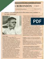 Entrevista James Joyce