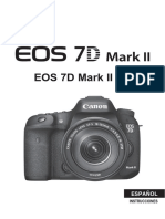 EOS 7D Mark II Instruction Manual ES