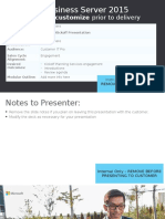 Skype for Business Server 2015 - Kickoff Presentation