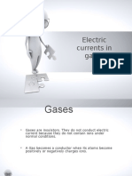 Electric Currents in Gases