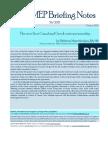 Briefing Notes 38 October 2015 Mastrotheodoros Eleftherios