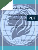 Elecciones presidenciales del Perú.