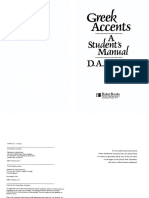 Greek Accents, a Student's Manual by D. A. Carson