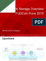 OpenStack Storage Overview