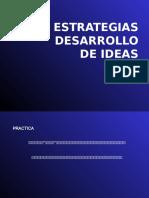Estrategias Para Desarrollo de Ideas.