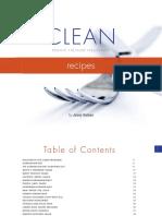 Clean Recipes