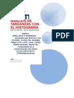 Analisis de Tardanzas Con El Histograma