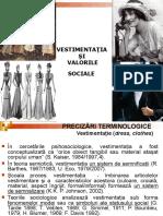 Vestimentatia Si Valorile Sociale1