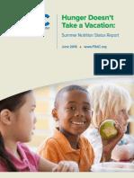 2016 Summer Nutrition Report