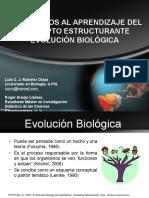 Ramírez Luis. Obstáculos Al Aprendizaje Del Concepto Estructurante Evolución Biológica