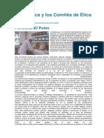 La Bioética y Los Comités de Ética - Periódico El Pulso