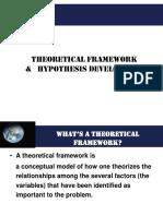 Theoretical Framework n Hypotheses Development