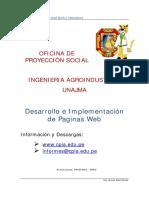 Desarrollo e Implementación de Paginas Web