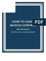 How to Learn Muscle Control Part 2 by Otto Arco and Alan Calvert