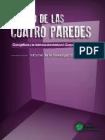 Dentro de Las 4 Paredes Ecuador Informe Final