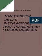 Transportar Fluidos Quimicos M I Vedernikov I v Rudoy