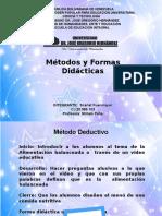 Metodos y Formas Didacticas