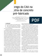 Artigo Leonardi CAA pré-moldados de concreto