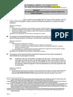 CAPTE_PTA Standards Evidence