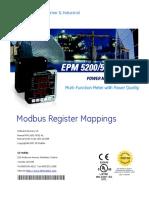 Modbus Register