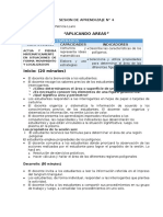 SESION DE APRENDIZAJE N° 4