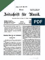 Neue Zeitschrift Für Musik (Riemann) 18700520, Pp.197–9, Aesthetische Essays Über Das Dreikunstwerk II