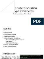 Patient Case Discussion in Type 2 Diabetes