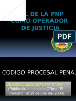 Rol PNP Operadores de Jusiticia