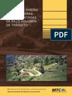 Manual de Diseño de Carreteras No Pavimentadas de Bajo Volumen de Transito