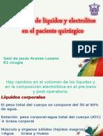 1.- Liquidos y Electrolitos