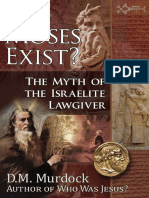 Did Moses Exist the Myth of the Israelite Law Giver