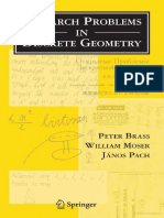 Brass-Research Problems in Discrete Geometry (ING)