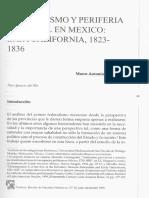 Federalismo y periferia regional en México