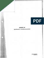 Annexe M Spécification S - Contrôle de Structure