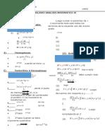 Formulario Mate 3